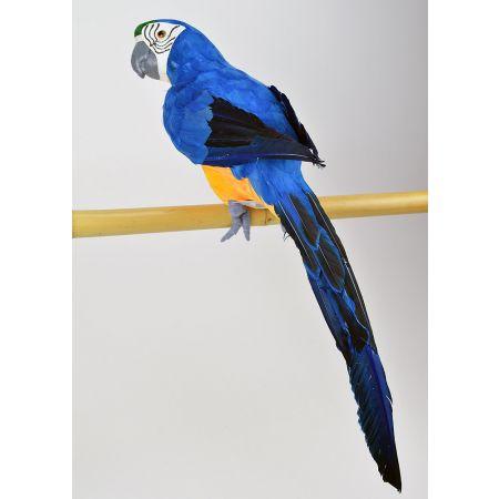 Διακοσμητικός παπαγάλος Μπλε 58cm