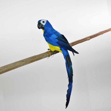 Διακοσμητικός Παπαγάλος Μπλε 50cm