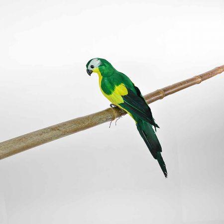 Διακοσμητικός Παπαγάλος Πράσινος 35cm