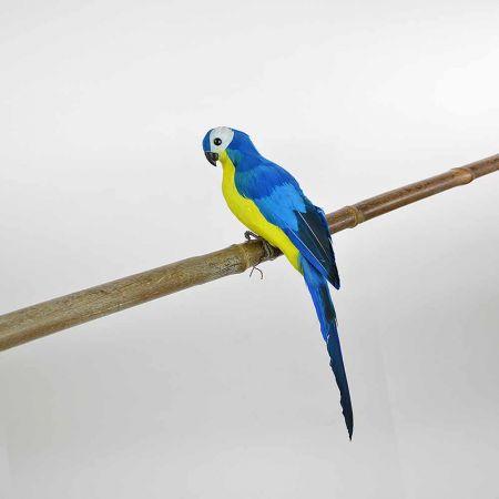 Διακοσμητικός Παπαγάλος Μπλε 35cm