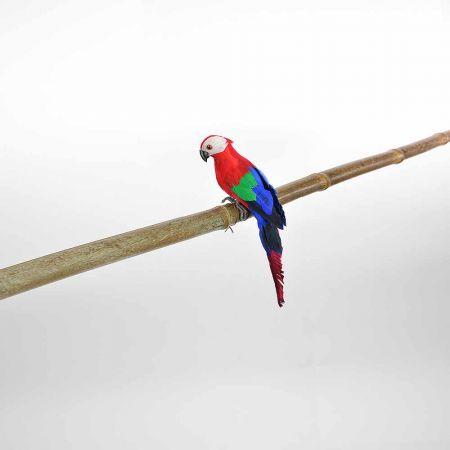 Διακοσμητικός Παπαγάλος Κόκκινος 25cm