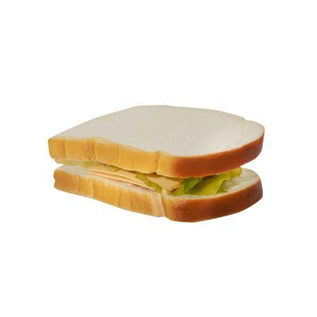 HQ Διακοσμητικό Sandwich-Τοστ απομίμηση 15x12cm