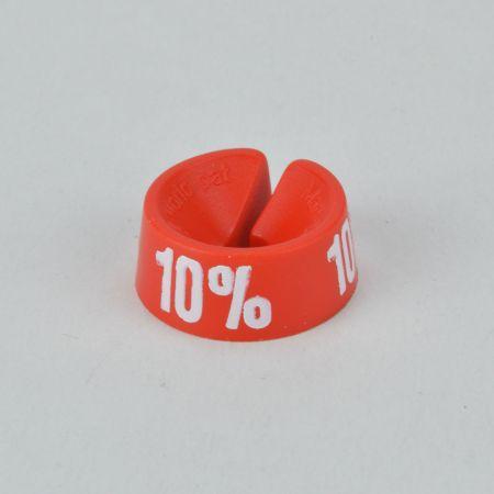 10% Σετ 25τχ Νουμεροδείκτες - Σήμανση εκπτώσεων Κόκκινο - Λευκό τύπωμα