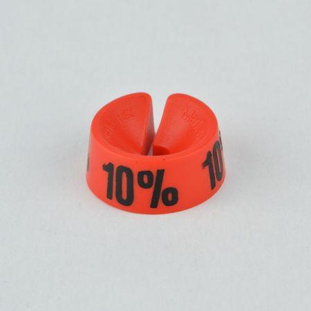 10% Σετ 25τχ Νουμεροδείκτες - Σήμανση εκπτώσεων Κόκκινο - Μαύρο τύπωμα