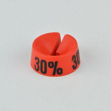 30% Σετ 25τχ Νουμεροδείκτες - Σήμανση εκπτώσεων Κόκκινο - Μαύρο τύπωμα