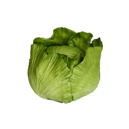 HQ Διακοσμητικό λάχανο πράσινο απομίμηση 20x15cm