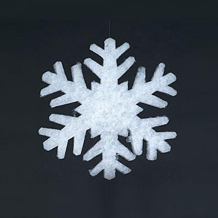 Χιονονιφάδα από βάτα 2cm/75cm