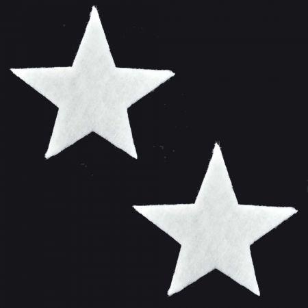 Σετ 2τχ Διακοσμητικά Χριστουγεννιάτικα αστέρια από βάτα 29cm