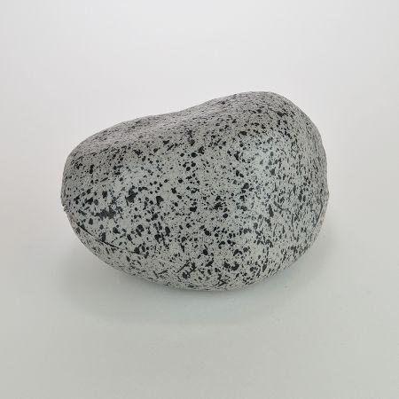 Διακοσμητική πέτρα οβάλ - απομίμηση Γκρι 20x14cm