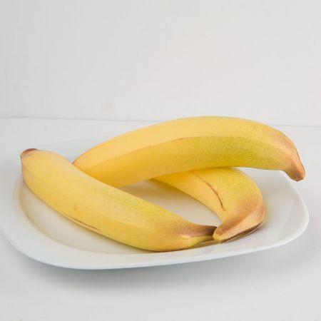 Σετ 3τμχ Διακοσμητικές μπανάνες (Μικρές) απομίμηση 15x4cm