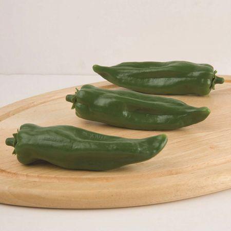 Σετ 3τχ Πράσινες πιπεριές Φλωρίνης απομίμηση 16x9cm