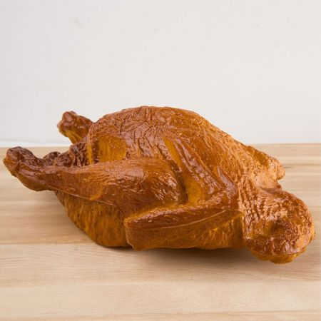 Διακοσμητικό ψητό κοτόπουλο - απομίμηση 23x14cm
