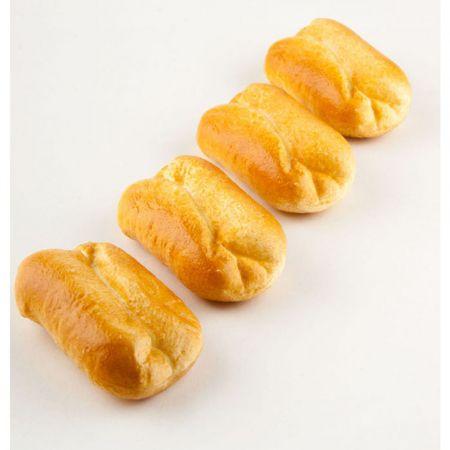 Σετ 4τμχ Διακοσμητικά ψωμάκια - απομίμηση 10x6cm