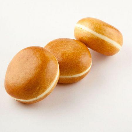 Σετ 3τμχ Διακοσμητικά ντόνατ - απομίμηση 8,5cm