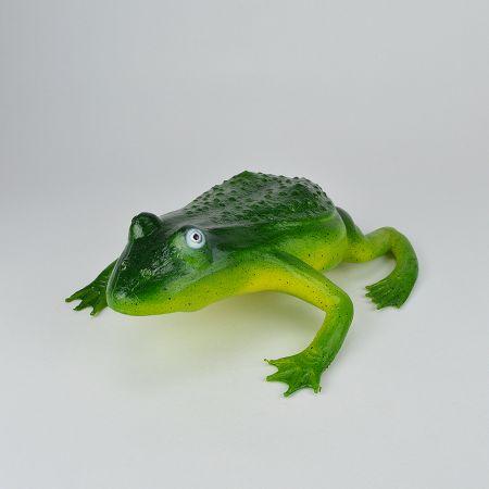 Διακοσμητικός βάτραχος - απομίμηση Πράσινος 27x21x9cm