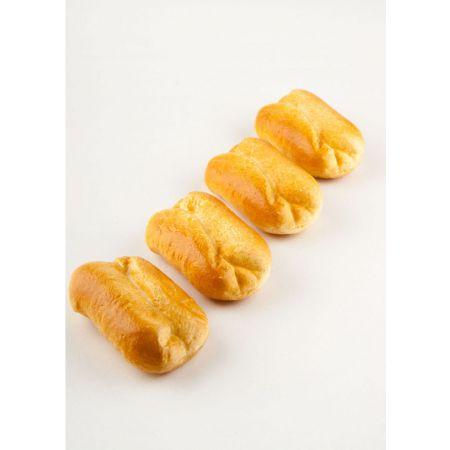 Σετ 4τχ διακοσμητικά ψωμάκια 4 τεμαχίων απομίμηση 10x6cm