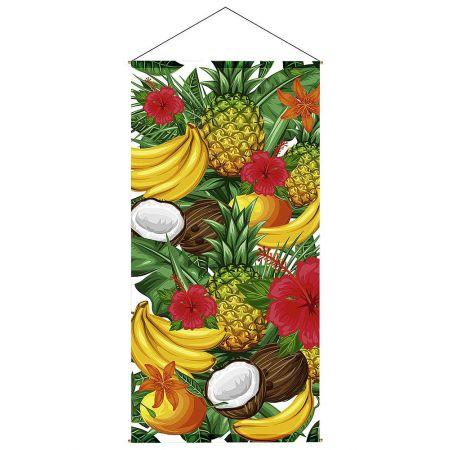 Διακοσμητική αφίσα  Tropical Fruits 100x200cm