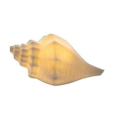 Διακοσμητικό κοχύλι LED μπαταρίας 11,7x6,9x6,9cm