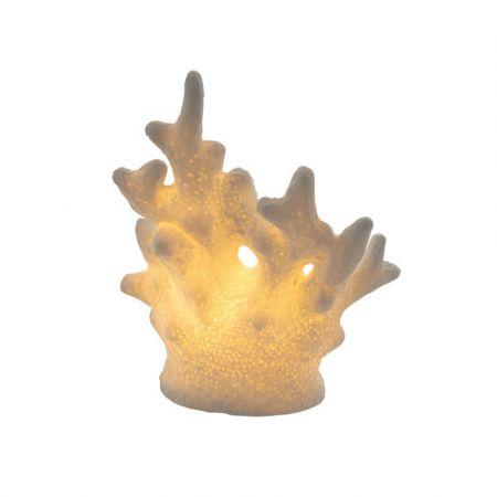Διακοσμητικό κοράλλι LED μπαταρίας 7,1x5,6x13,7cm