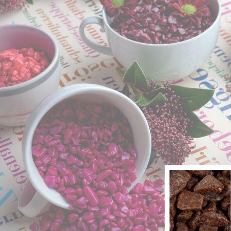 Συσκευασία 550ml Διακοσμητικό χαλίκι χρωματιστό Καφέ 5-8mm