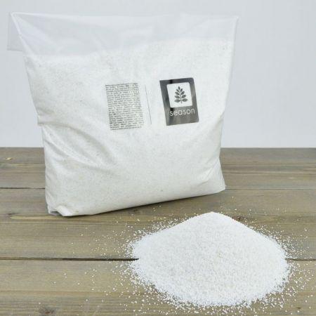 Συσκευασία 1kg Διακοσμητική άμμος Λευκή 0,5mm
