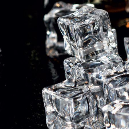Σετ 15τχ Απομίμηση πάγου - παγάκια 1,8cm