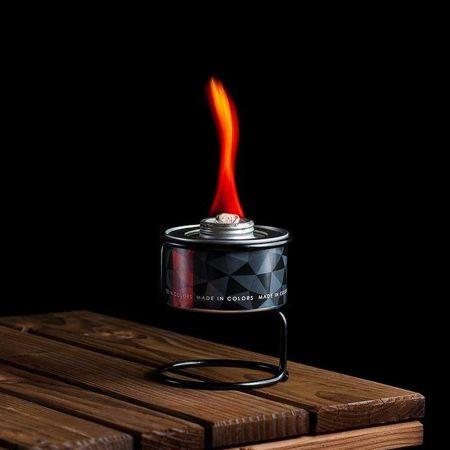 Διακοσμητική χρωματιστή φλόγα Κόκκινη