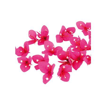 Σετ 100τχ διακοσμητικά άνθη Βουκαμβίλιας 4cm