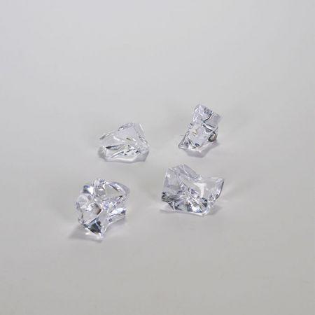 Σετ 4τχ Απομίμηση πάγου - παγάκια με ακανόνιστο σχήμα 3cm