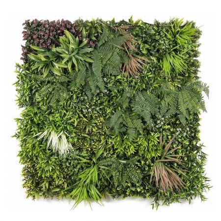 Πλακάκι πρασινάδες - Πάνελ Σύνθεση Πράσινο 100x100cm