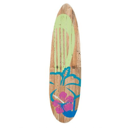 Διακοσμητική σανίδα του Surf ξύλινη, 115x30 cm