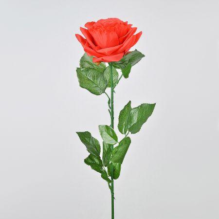 Διακοσμητικό τριαντάφυλλο Κόκκινο 72cm