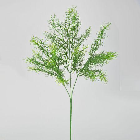 Διακοσμητικό τεχνητό κλαδί πρασινάδα 70cm