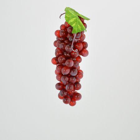 Διακοσμητικό σταφύλι - απομίμηση Κόκκινο 16cm