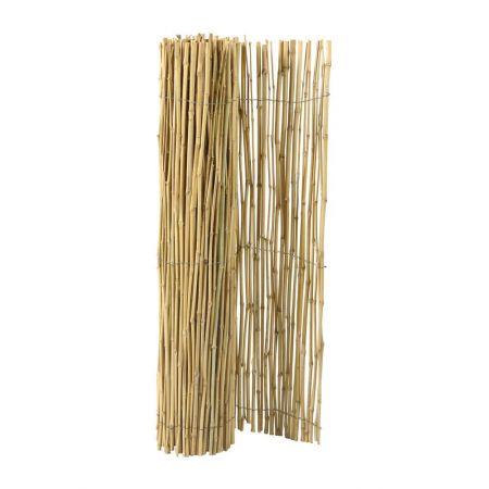 Διακοσμητική καλαμωτή - μπαμπού μασιφ 200x300cm , 8-10mm
