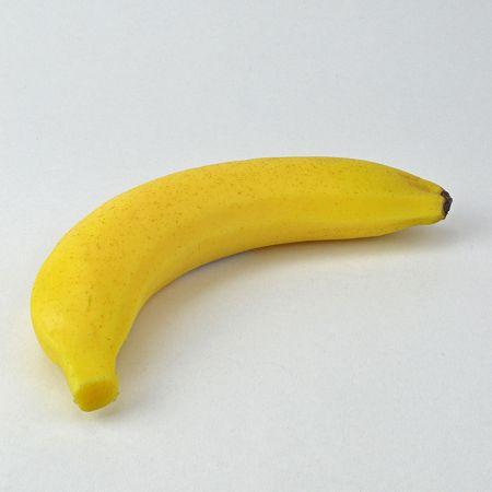 HQ Διακοσμητική μπανάνα απομίμηση 19x4cm