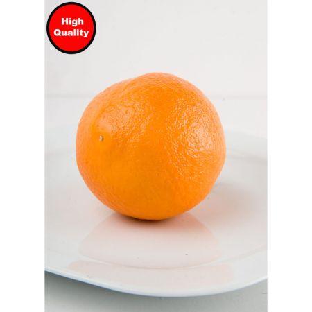Διακοσμητικό πορτοκάλι απομίμηση 8cm