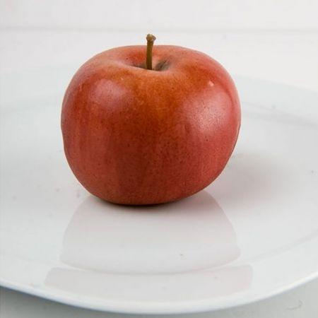 Διακοσμητικό μήλο Κόκκινο - απομίμηση 6cm