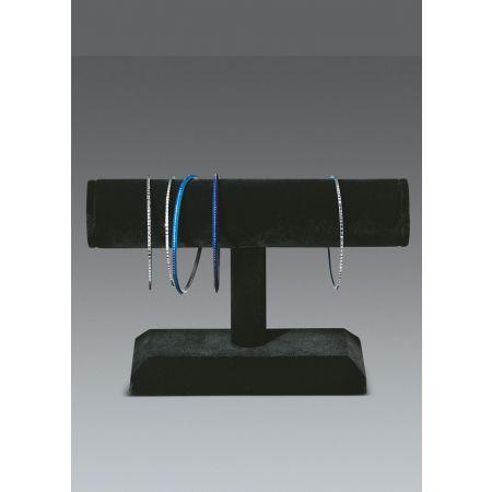 Σταντ παρουσίασης για βραχιόλια και ρολόγια 13x19x4cm-Μαύρο Βελούδο