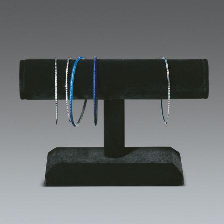 Σταντ παρουσίασης για βραχιόλια - ρολόγια Μαύρο 13x19x4cm