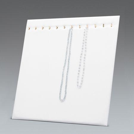 Σταντ παρουσίασης για κοσμήματα Λευκό 39x30cm