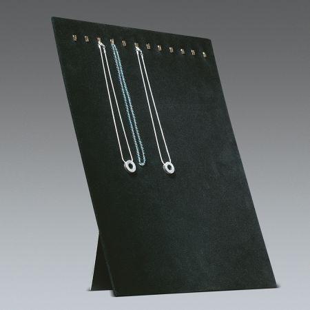 Σταντ παρουσίασης για κολιέ Μαύρο 39x30cm