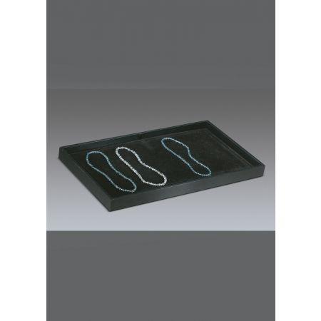 Δίσκος παρουσίασης για κοσμήματα 37.5x21x3cm-Μαύρο