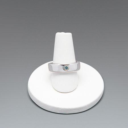 Σταντ παρουσίασης για δαχτυλίδια Λευκό 3,5x4cm