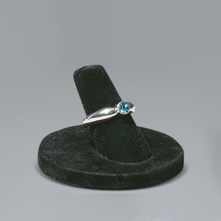 Σταντ παρουσίασης για δαχτυλίδια Μαύρο 3,5x4cm