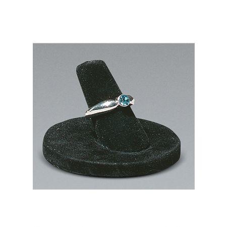 Σταντ παρουσίασης για δαχτυλίδια 3.5x4cm-Μαύρο Βελούδο