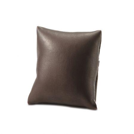 Μαξιλαράκι με πλαστική βάση Καφέ 6,5x6,5x3,5cm