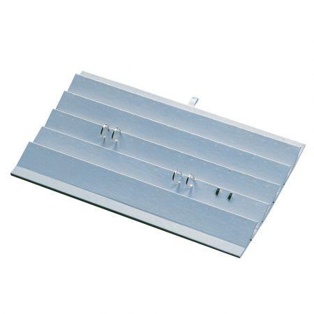 Βάση παρουσίασης για σκουλαρίκια Λευκή 36x20x2,5cm