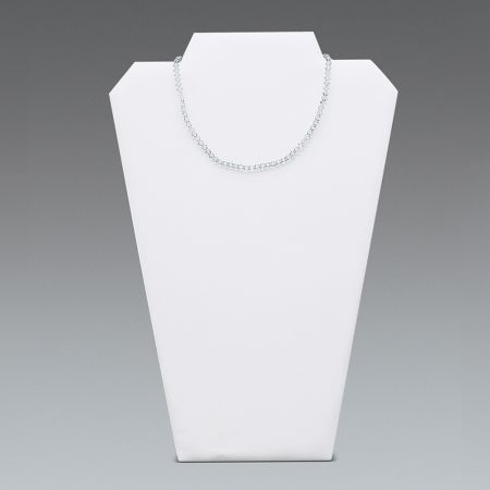 Σταντ-Μπούστο παρουσίασης για κολιέ Λευκό 32x22cm