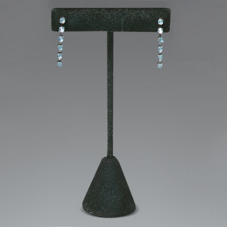 Σταντ παρουσίασης για σκουλαρίκια Μαύρο 12cm